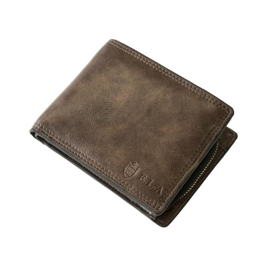 財布 二つ折り メンズ Lファスナー札入れ プレゼント 父の日 ギフト lojel-japan 11