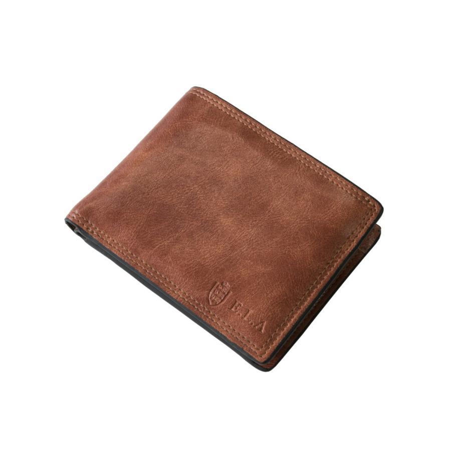 財布 二つ折り メンズ Lファスナー札入れ プレゼント 父の日 ギフト lojel-japan 03