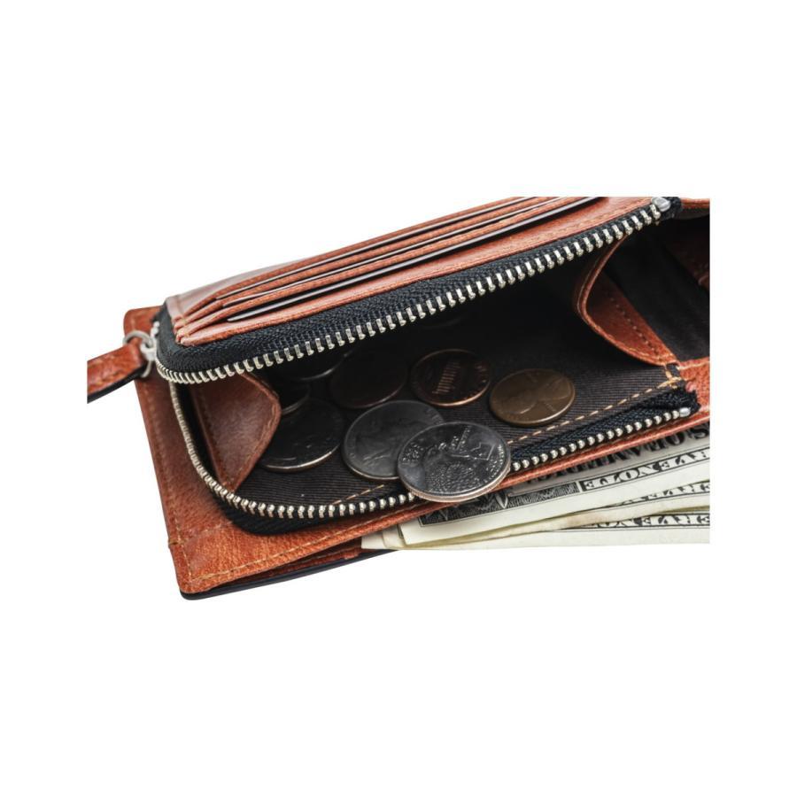 財布 二つ折り メンズ Lファスナー札入れ プレゼント 父の日 ギフト lojel-japan 07