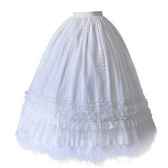 ロリータ ペチコート インナースカート 大きいサイズ サイズ豊富 通年 エレガント 甘ロリ ロング マキシ ふんわり お姫様 姫ロリ かわいい ボリューム loliloli