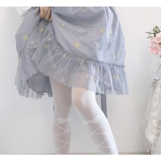 タイツ ストッキング レディース ファッション小物 靴下 ロリータ ロリィタ ホワイトソックス|londonbridge|08