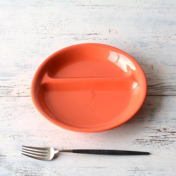 ランチプレート 丸 21cm 全9color  取り皿 おしゃれ お皿 皿 食器 プレート 陶器 美濃焼 可愛い 北欧 日本製 おうちごはん long-greenlabel 11