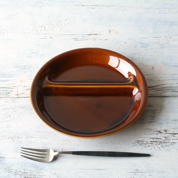 ランチプレート 丸 21cm 全9color  取り皿 おしゃれ お皿 皿 食器 プレート 陶器 美濃焼 可愛い 北欧 日本製 おうちごはん long-greenlabel 06