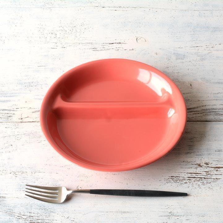 ランチプレート 丸 21cm 全9color  取り皿 おしゃれ お皿 皿 食器 プレート 陶器 美濃焼 可愛い 北欧 日本製 おうちごはん long-greenlabel 07