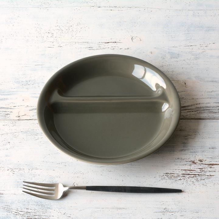 ランチプレート 丸 21cm 全9color  取り皿 おしゃれ お皿 皿 食器 プレート 陶器 美濃焼 可愛い 北欧 日本製 おうちごはん long-greenlabel 09