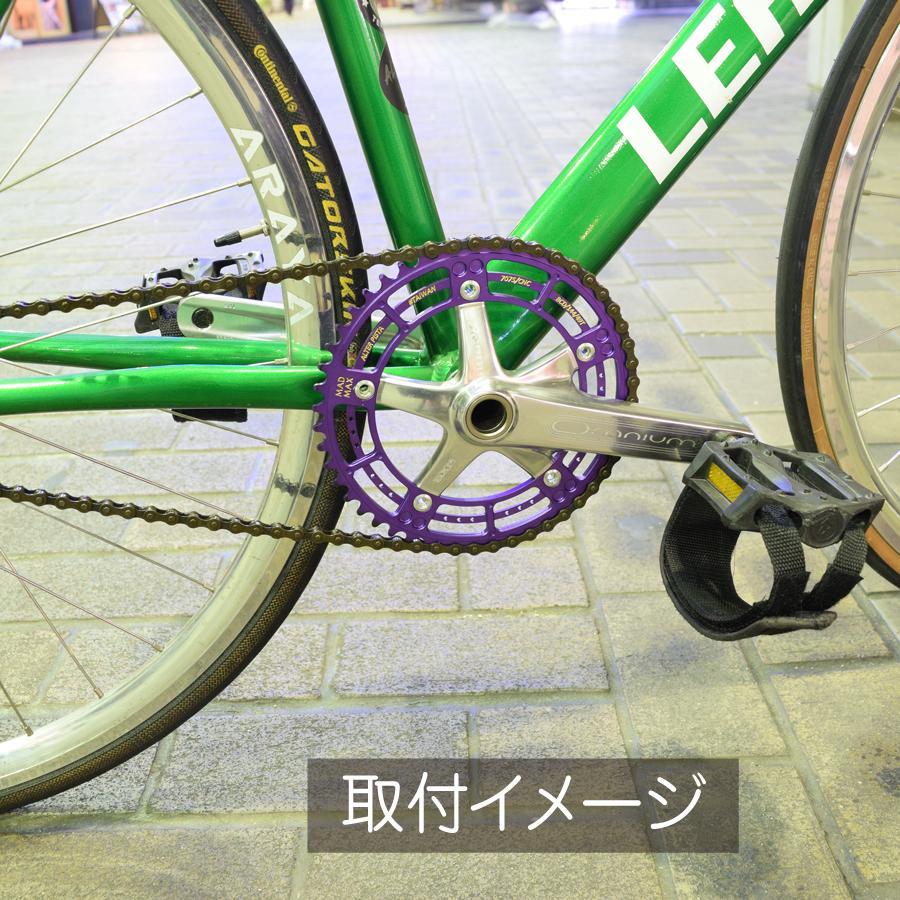 ALTER MADMAX チェーンリング Halloween  49T 厚歯 ピストバイク カスタム|longedge|03