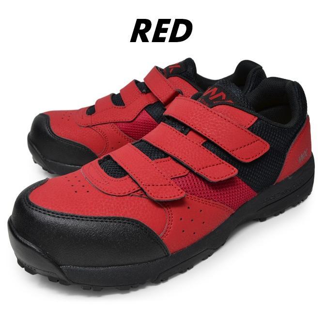 アシックス商事 安全靴 マジックテープ メンズ プロスニーカー テクシーワークス 歩きやすい 痛くない 疲れない 履きやすい|longpshoe|09