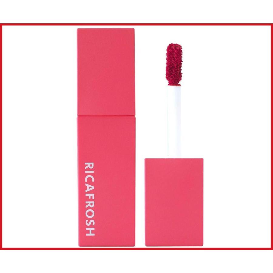 リカフロッシュ RICAFROSH 口紅 リップティント ジューシーリブティント 定価 マスク 4.5g つかない 落ちない 人気ブランド多数対象 03ミアローズ