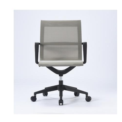 オフィスチェア 肘付き 送料無料 キャスター付きチェア メッシュチェア ミーティングチェア 会議チェア オフィス家具 会議室 ミーティングルーム チェア M-1055