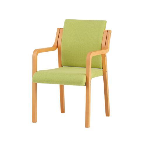 ダイニングチェア グループホーム 病院用 デイサービス デイサービス 公共施設 福祉施設用 高齢者施設 スタッキングタイプ グループホーム 食堂用椅子 木製椅子 FVM-6A