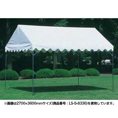 ★新品★ テント ささっとテント 中折れ式 3.6×7.2m タープテント 仮設テント 屋台 イベント 運動会 市場 運動施設 屋外 日本製 S-8338