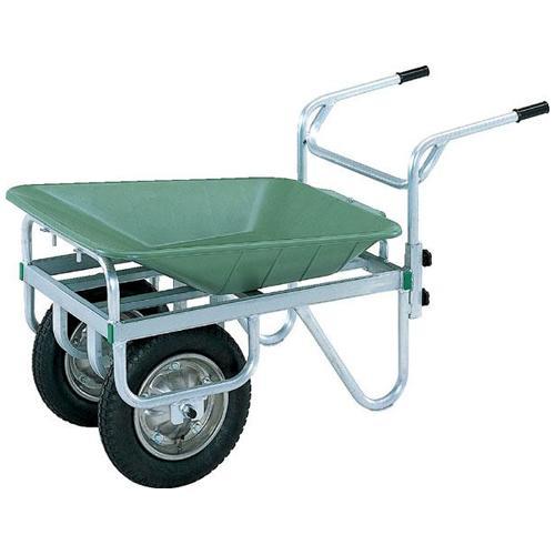 リヤカー 2輪型 コンテナカー 農作業 運搬車 S-9407
