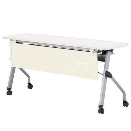 フォールディングテーブル 樹脂幕板付 HLS-1545GWP