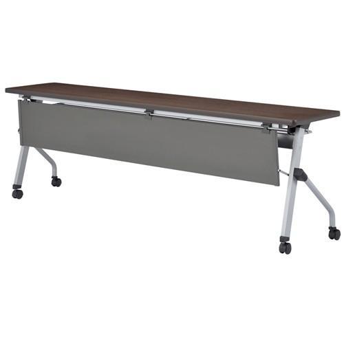 フォールディングテーブル フォールディングテーブル 樹脂幕板付 HLS-2160GWP