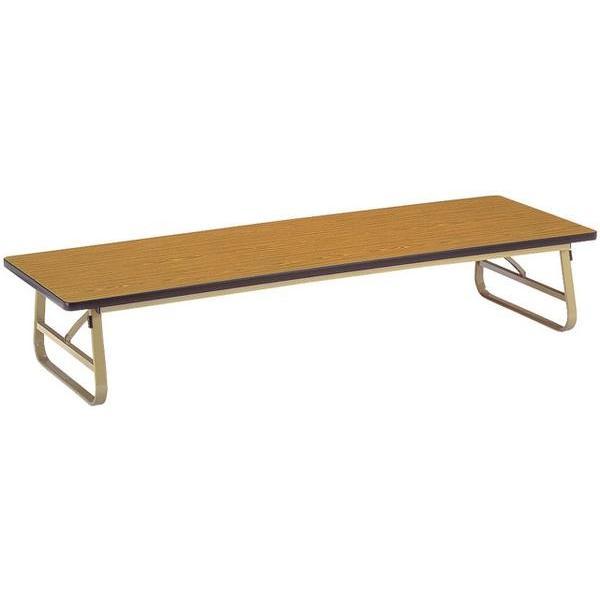 折り畳み座卓 ZU-1860S 学習塾 テーブル 木目 作業