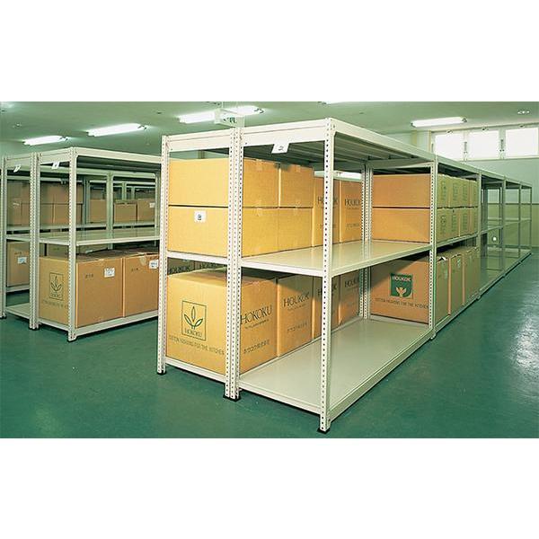 イチゴラック H1800mm アングル棚 在庫整理 IM-6545-4