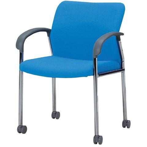 ミーティングチェア キャスター 肘付き 椅子 MC-S221FC