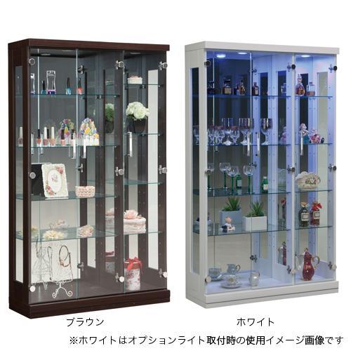 コレクションラック 送料無料 コレクションケース コレクター フィギュア ガラスケース 食器棚 ガラス棚 フォース90コレクション FORCE-90CR 【着日指定不可】