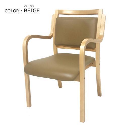 【 法人 送料無料 】 ダイニング チェア 木製 肘付き 完成品 スタッキングチェア 椅子 肘掛 病院 待合室 いす イス ダイニングチェア おしゃれ 把手付 ANG-1H-S|lookit|13