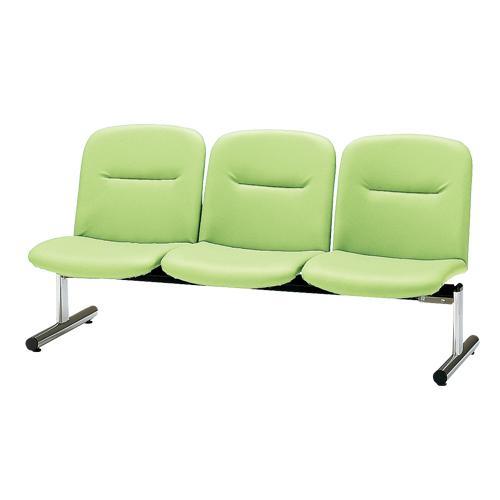 ロビーチェア 3人用 ベンチ 抗菌 防汚 シンプル シンプル カラフル 椅子 チェア ロビー オフィス FSL-3L