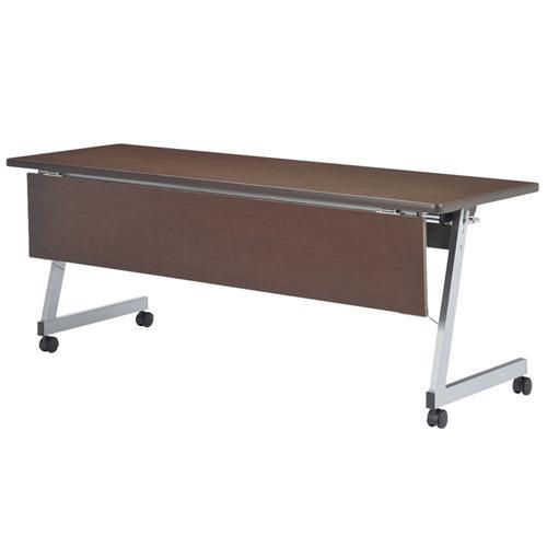フォールディングテーブル 化粧板幕板付 化粧板幕板付 LFZ-1545HKP