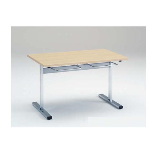 食堂テーブル 4人用 幅120×奥行75cm 送料無料 イス掛け付きテーブル ダイニングテーブル ミーティングテーブル ミーティングテーブル オフィス家具 福祉施設 教育施設 9312AE-MP
