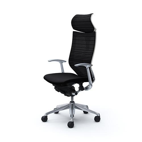 バロン チェア オカムラ オフィスチェア 岡村製作所 パソコンチェア メッシュチェア ハイバック キャスター 肘掛け イス 椅子 CP41BW-FGR 送料無料