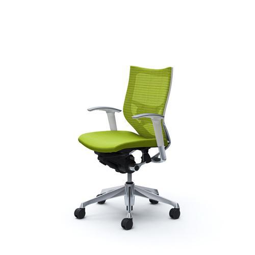 バロン チェア オカムラ オフィスチェア 岡村製作所 ローバック メッシュチェア パソコンチェア オフィス家具 肘なし カラフル 事務 椅子 CP83BZ 送料無料