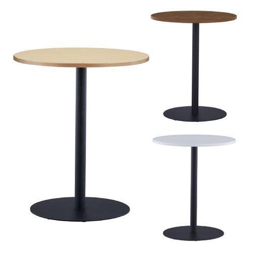 法人限定 ラウンドテーブル 直径600mm ラウンジテーブル 丸テーブル 日本最大級の品揃え 丸型 会議用テーブル ミーティングテーブル トラスト 会議テーブル RFRT3-600-BL カフェテーブル