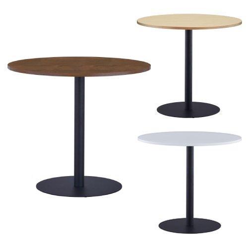 贈答品 法人限定 ラウンドテーブル 直径800mm ラウンジテーブル NEW売り切れる前に☆ 丸テーブル 丸型 会議テーブル 会議用テーブル RFRT3-800-BL カフェテーブル ミーティングテーブル