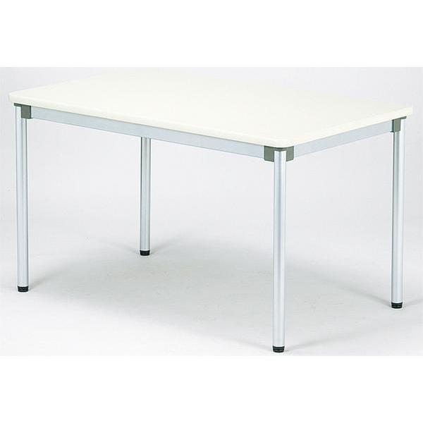 会議テーブル 棚なし 机 つくえ 作業用 AS-1275 送料無料