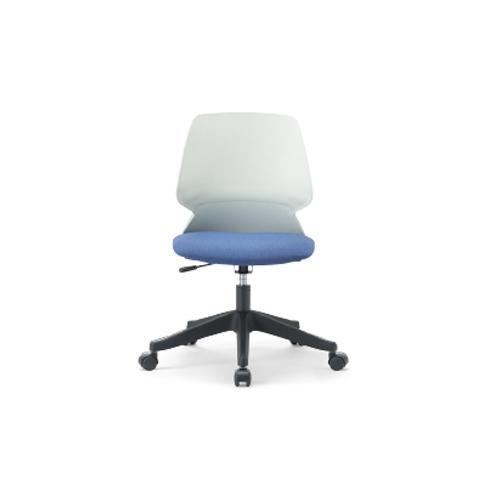 【法人限定】 オフィスチェア 肘なし 布張り 送料無料 デスクチェア ミーティングチェア キャスター付きチェア オフィス オフィス 会議室 MA-2009WB
