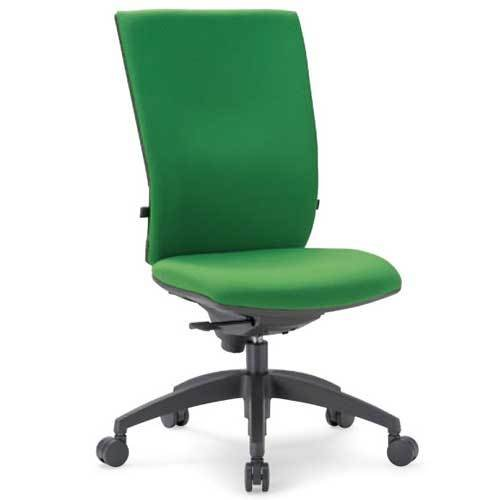 チェア ハイバック キャスター付 布張り ビニールレザー張り 10色展開 ランバーサポート 回転イス オフィスチェア オフィスチェア 事務用椅子 OS-2245 送料無料