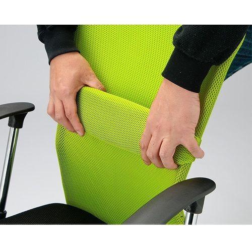 オフィスチェア メッシュチェア 腰痛対策 肘なし おしゃれ 事務椅子 パソコンチェア デスクチェア メッシュ コンパクト 送料無料 VMC-29|lookit|13