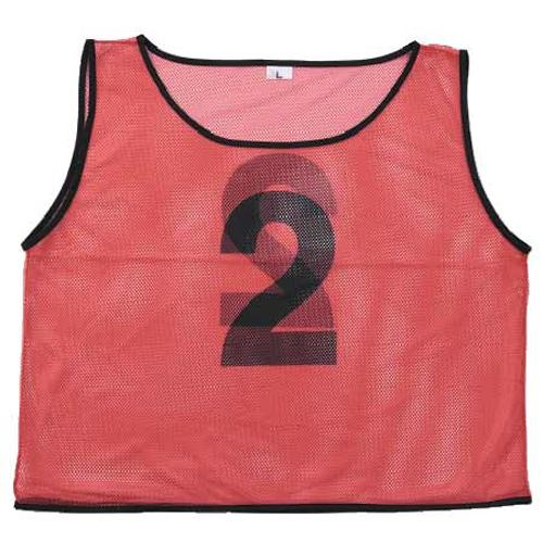soldout ビブス 10枚セット 子供用 サッカー 運動 S-8870-75 lookit
