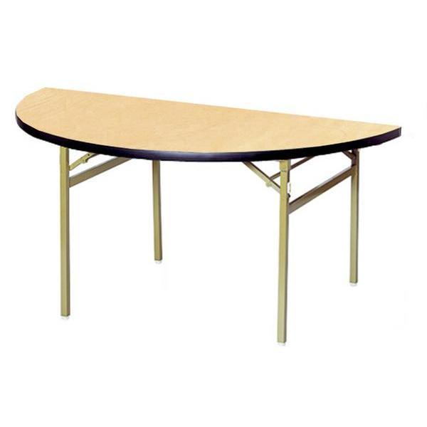 折り畳みテーブル RT-1200HR RT-1200HR 半円 丸型 円卓 食堂