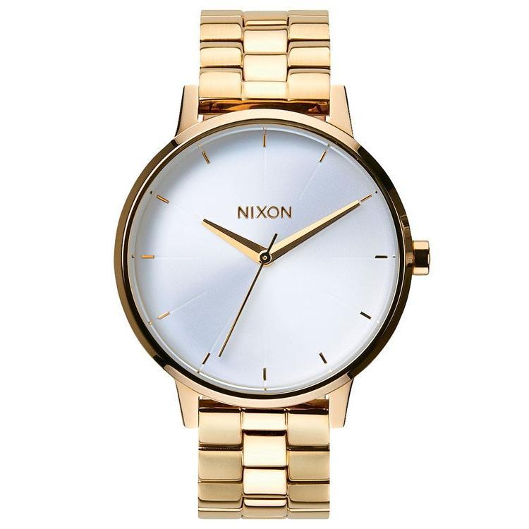 正式的 完売 完売 ニクソン 腕時計 レディース NIXON THE KENSINGTON ケンジントン ケンジントン NIXON ゴールド/ホワイト NA099508-00, 曽於郡:e878d3af --- airmodconsu.dominiotemporario.com