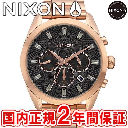 超歓迎 完売 ニクソン 腕時計 レディース NIXON THE BULLET CHRONO CRYSTAL バレットクロノクリスタル オールローズゴールド/ガンメタル NA9312046-00, 【通販 人気】 e229befa