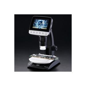 デジタル顕微鏡 LCDデジタルマイクロスコープ DIM-03 アルファーミラージュ TV出力対応 4〜40倍 マイクロスコープ USB 顕微鏡 モニタ|loupe