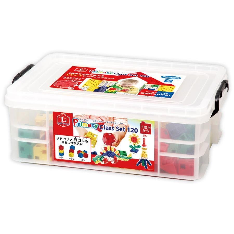 ブロック おもちゃ アーテックブロック L ブロック プライマリー クラスセット 120ピース レゴブロックのように遊べる