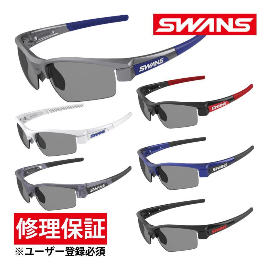サングラス スポーツ スモークレンズ ゴルフ ドライブ メンズ レディース LION SIN フレーム+L-LI SIN-0001 SMK カラーレン