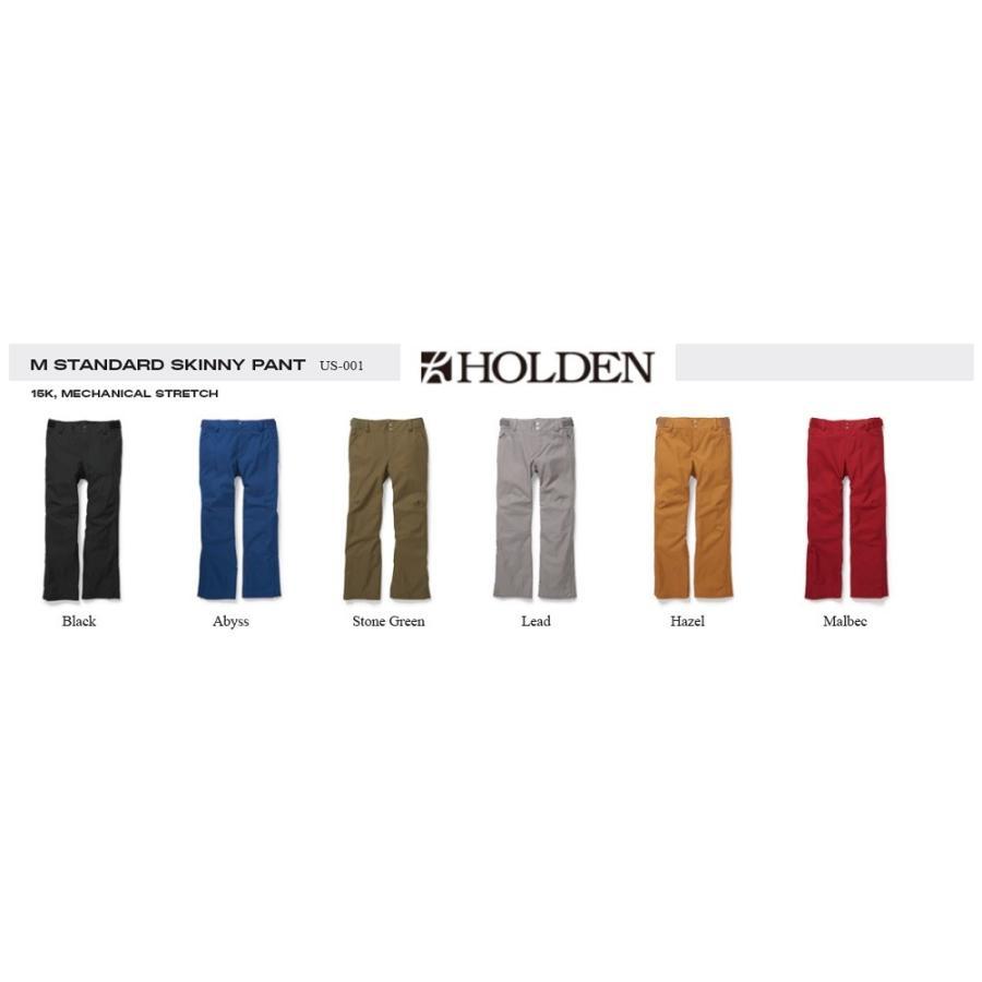 HOLDEN 19-20 やっぱり これだ!定番パンツ STANDARD SKINNY PANT 細め スキニー パンツ ウエア ホールデン スノーボード スノボ WEAR