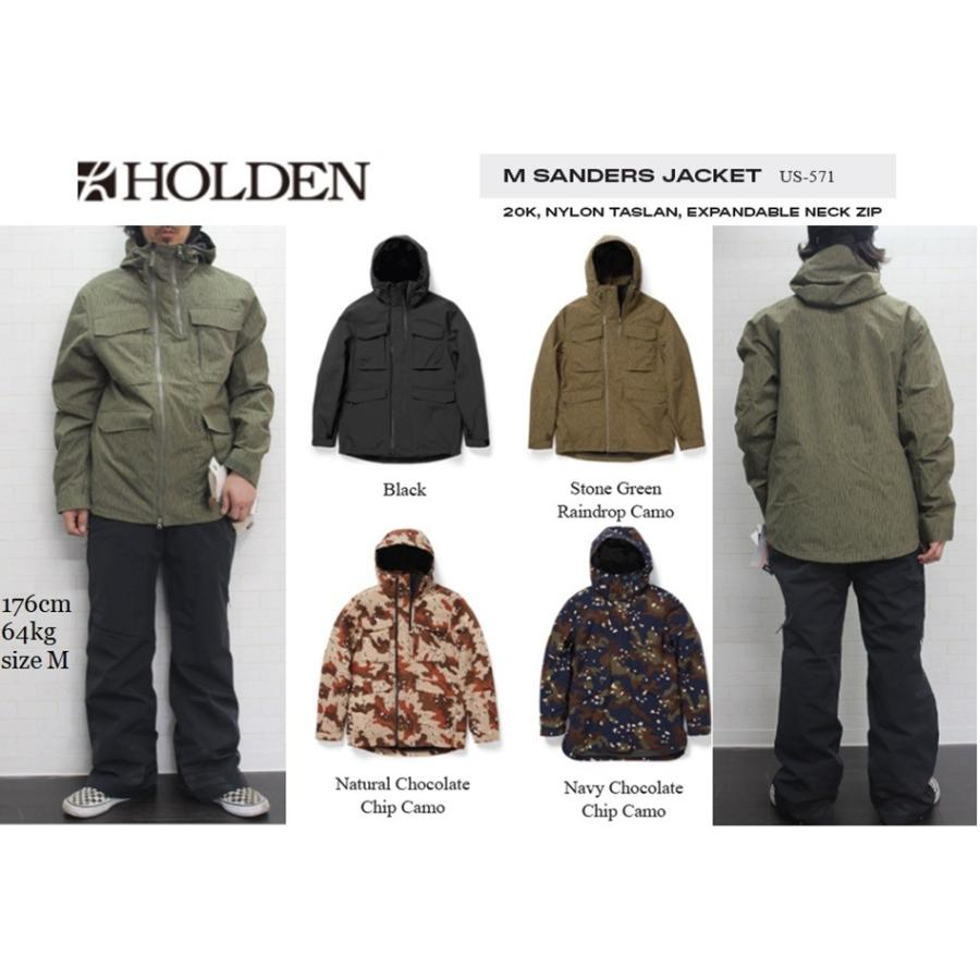 最新発見 HOLDEN 19-20 いつ買うの?これでしょ!? SANDERS JACKET ジャケット アウター 19-20 WEAR パンツ ウエア ホールデン スノーボード スノボ, シラオイチョウ:a2fa3596 --- airmodconsu.dominiotemporario.com