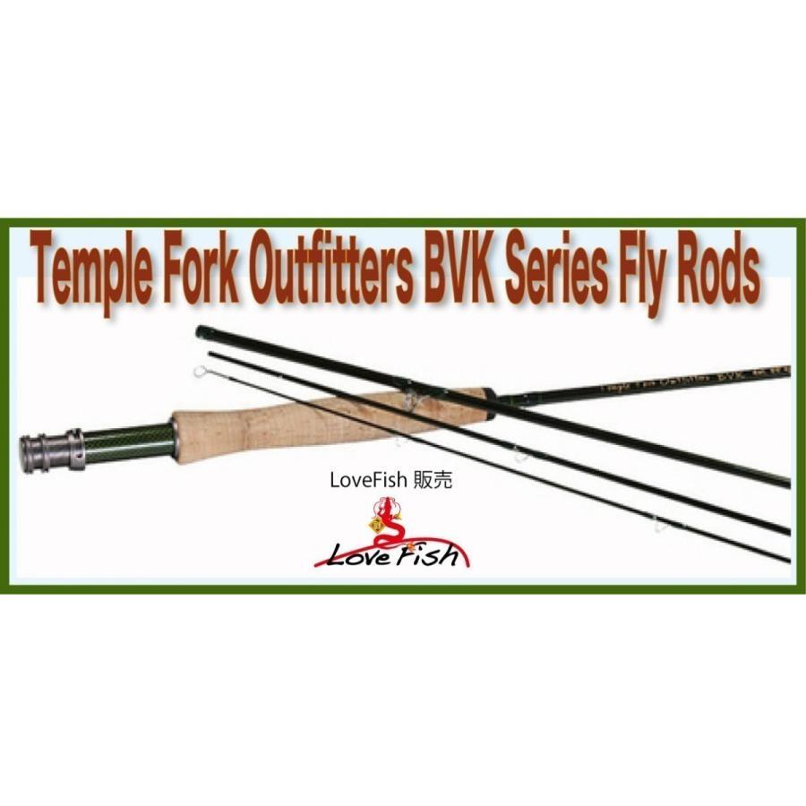 人気のロッド!Temple Fork Outfitters BVK Series 4-Piece Fly Rod TF05905B/TF06905B