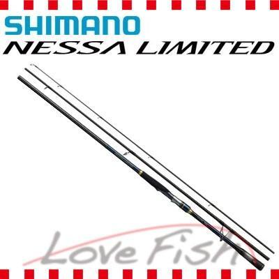 18年8月新商品 サーフゲームロッド ネッサ リミテッドS104MH SIMANO