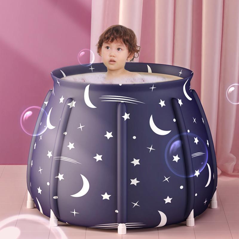 ポータブルバスタブ 折りたたみ浴槽  シャワールーム 水風呂 プール キャンプ  簡易浴槽 家庭用 浴槽 大人 子供|loveliness|04