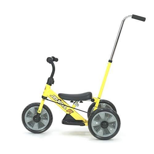 へんしん!サンライダーFC 三輪車 ランニングバイク カジキリ付き かじとり スクーター 乗用 足けり三輪車 子供用 キッズ|lovesmiletenn