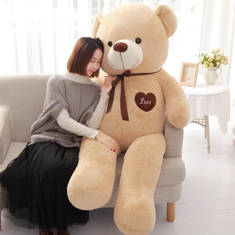 テディベア ぬいぐるみ 特大 くま Big bear stuffed toy ふわふわ優しい くまさん 140cm