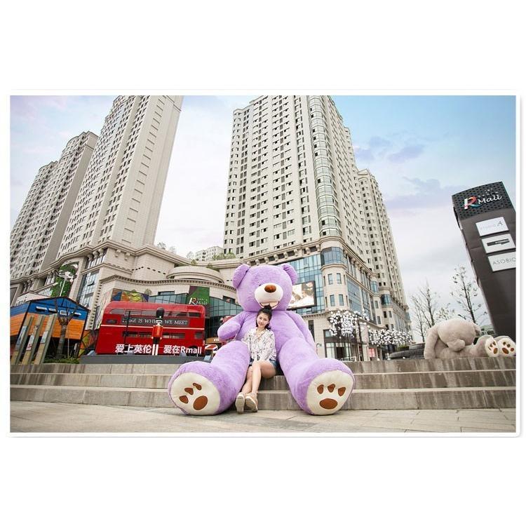 ぬいぐるみ 特大 くま/テディベア 7色5サイズ 可愛い熊 動物 大きいクマ ぬいぐるみ130cm/160cm/200cm/250cm/340cm|lovesound|02