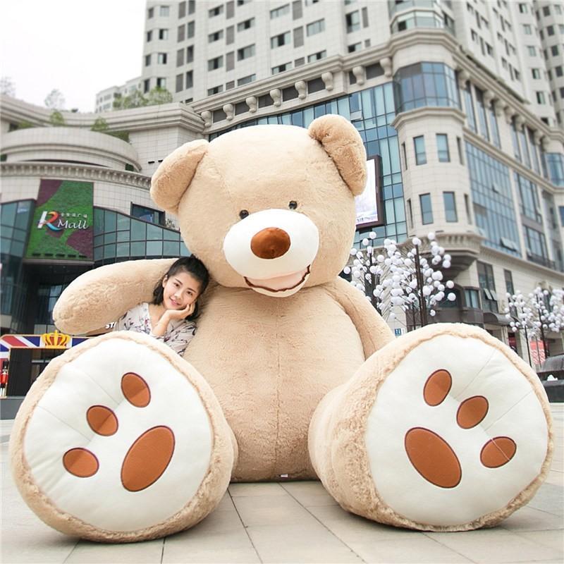 ぬいぐるみ 特大 くま/テディベア 7色5サイズ 可愛い熊 動物 大きいクマ ぬいぐるみ130cm/160cm/200cm/250cm/340cm|lovesound|12